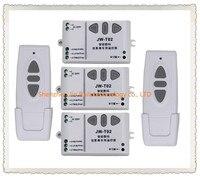 AC110V 220V 240V Intelligent Digital RF Wireless Remote Control Switch System For Projection Screen 2 Transmitter