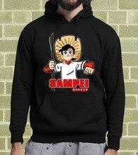 2019 fashion man Hoodies SAMPEI IL RAGAZZO PESCATORE CARTOON FELPA PER UOMO E BAMBINO Sweatshirt lupin iii 3 cartoon fela per uomo e bambino hoodies sweatshirt