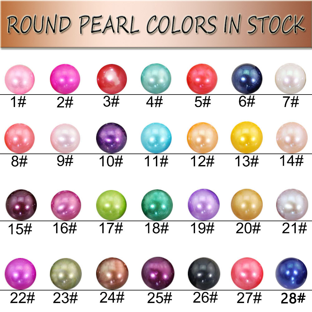 20pcs mixed 28 color Akoya Round 6-7mm Pearls with vacuum packed Mussel fashion live party show Mysterious Gift Surprise FR003
