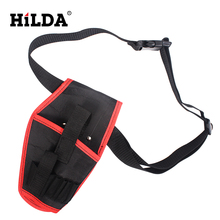 HILDA  Electric Drill Bag Portable Professional electrician Waist Bag Household electric drill package