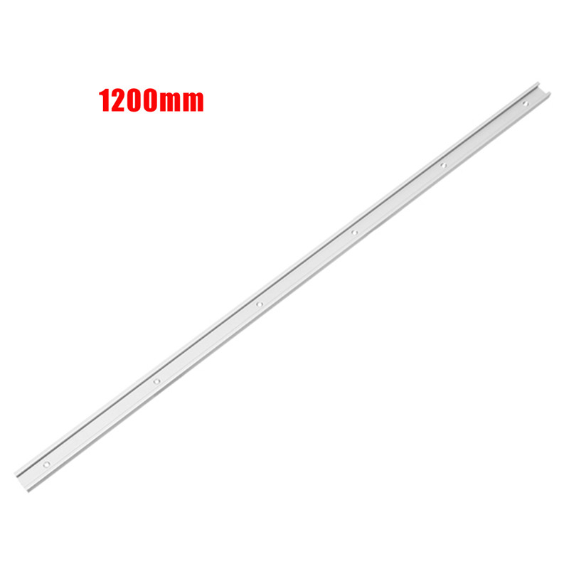 1pc 1220mm T-track Aluminum Slot Miter Track Jig Fixture For Router Table Bandsaw Relieving Rheumatism And Cold