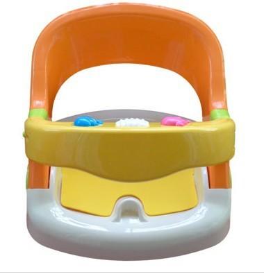 New Baby chuveiro criança infantil dobrável assento de banho chaise lounge cremalheira colchão net rotação cadeira cadeira padrão do CE