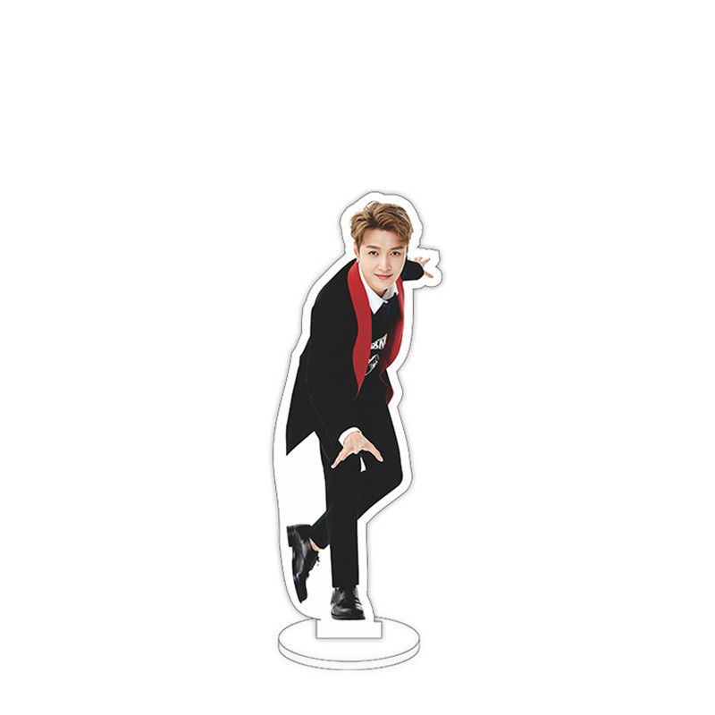 Kpop EXO Lay 15cm/6 Acrylic Stand Figure Double Side Home Table Decor Fans Toy Gift Collection