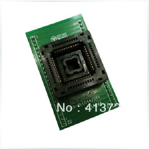 YAMAICHI PLCC44 to block SA244 adapter to convert DIP44 test, burn original plcc44 to dip40 block adapter block cnv plcc mpu51 test convert burn