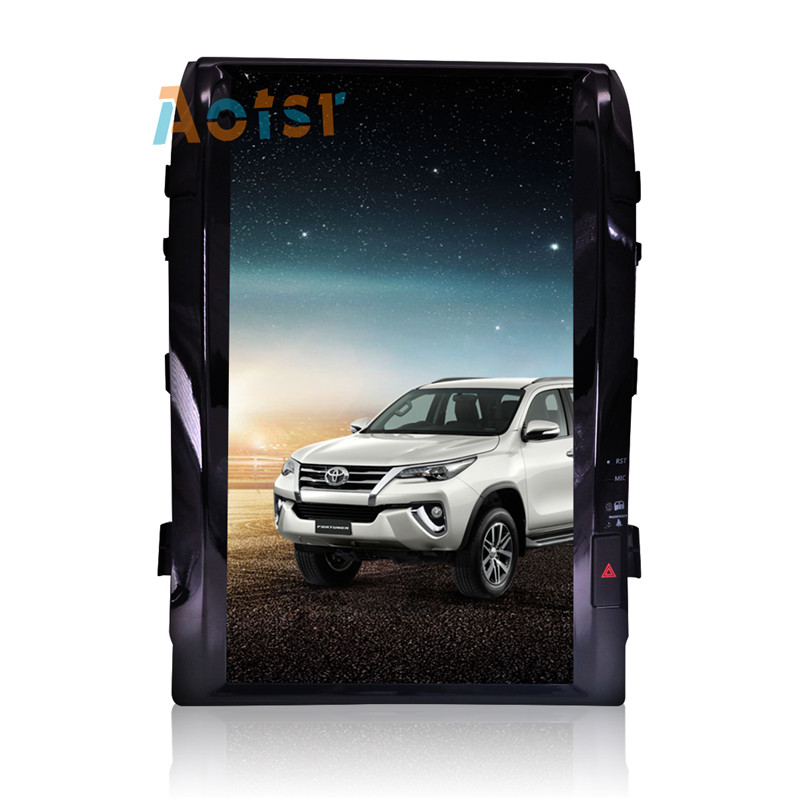 """Cheap 16"""" Tesla style Android 7.1 Car GPS Navigation Multimedia Player for TOYOTA LAND CRUISER LC200 2008-2015 Radio autostereo no dvd 4"""