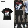 Salir corriendo Compton Camiseta Nwa Directamente Compton de Memoria Hip Hop Hombres Camiseta de La Manera Camiseta Homme Camisetas Hombre Justin Bieber