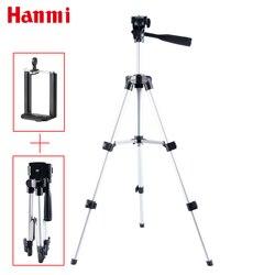 Hanmi portátil smartphone câmera digital tripé flexível para iphone 8,7, 6,6 s, 5 plus 5 S 4 4S para samsung s7 s6 s5 s4 telefone móvel