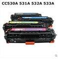 30a 530 530a cc530a cartucho de toner de cor para hp color laserjet cp2020 série, cp2024 cp2025 cp2026 cp2027 cm2320mfp cm2720mfp