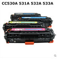 Color Toner Cartridge CC530A 30A 530 530A  for HP Color LaserJet CP2020 series,CP2024 CP2025 CP2026 CP2027 CM2320MFP CM2720MFP