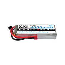 XXL Li-Polymer Battery  4S 14.8v 4000mah 35C for Toys & Hobbies RC car RC helicopter