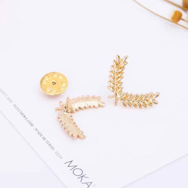 Hot Fashion Collar Wheat Pin Brooch