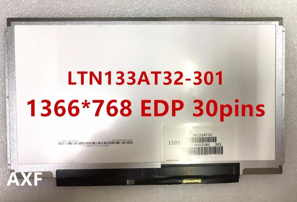 LTN133AT32 301 LTN133AT32-301 EDP 1366*768 interface(30pin) Slim Laptop LCD Screen LED Display Screen