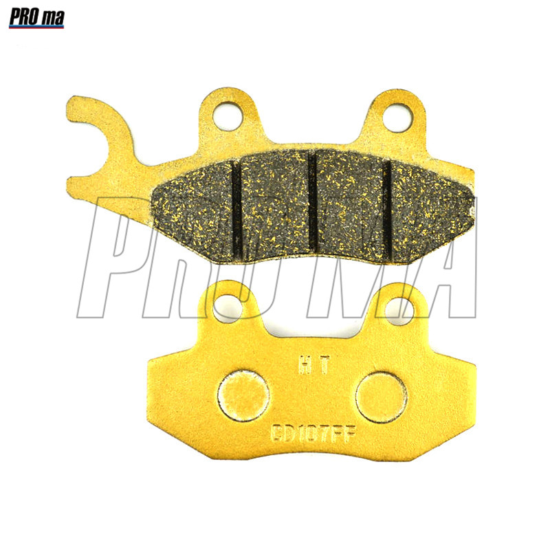Motorcycle Brake Pads Rear Racing quality For APACHE RLX 250 S/SX (Mk1)