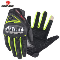 SCOYCO Metal Motorcycle Gloves Motorbike Accessories Moto Luvas Motocicleta Guantes M4426 Grip Mtb ATV Racing Sports