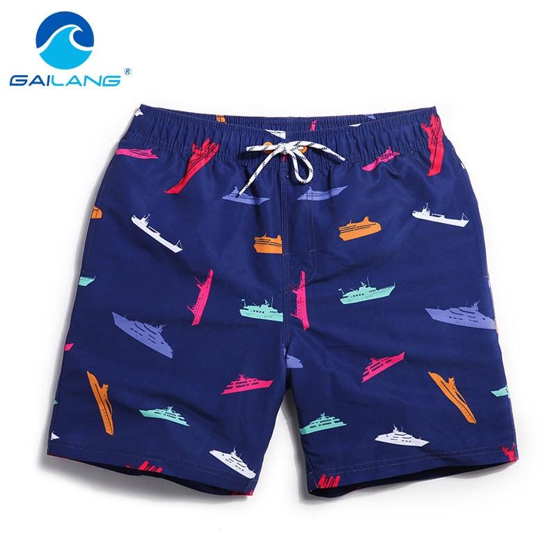 Gailang Brand Men Beach Shorts Board Boxer Trunks Shorts Bermda Casual Bottoms Plus Big Size Fitness Quick Drying Active Shorts