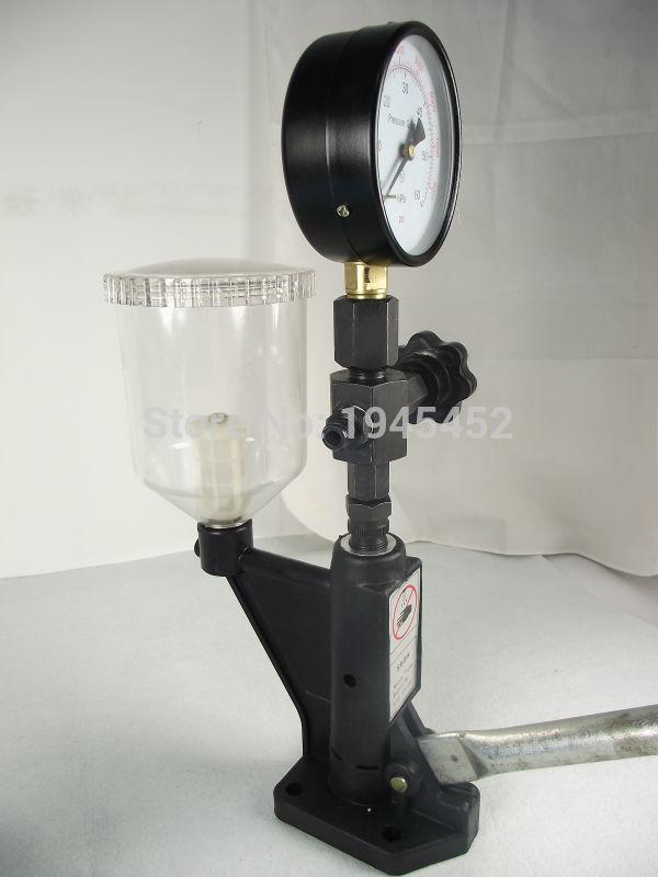 S60H rail commun injecteur diesel buse validateur buse de carburant injecteur testeur bonne qualité, pompe de suralimentation diesel manuelle
