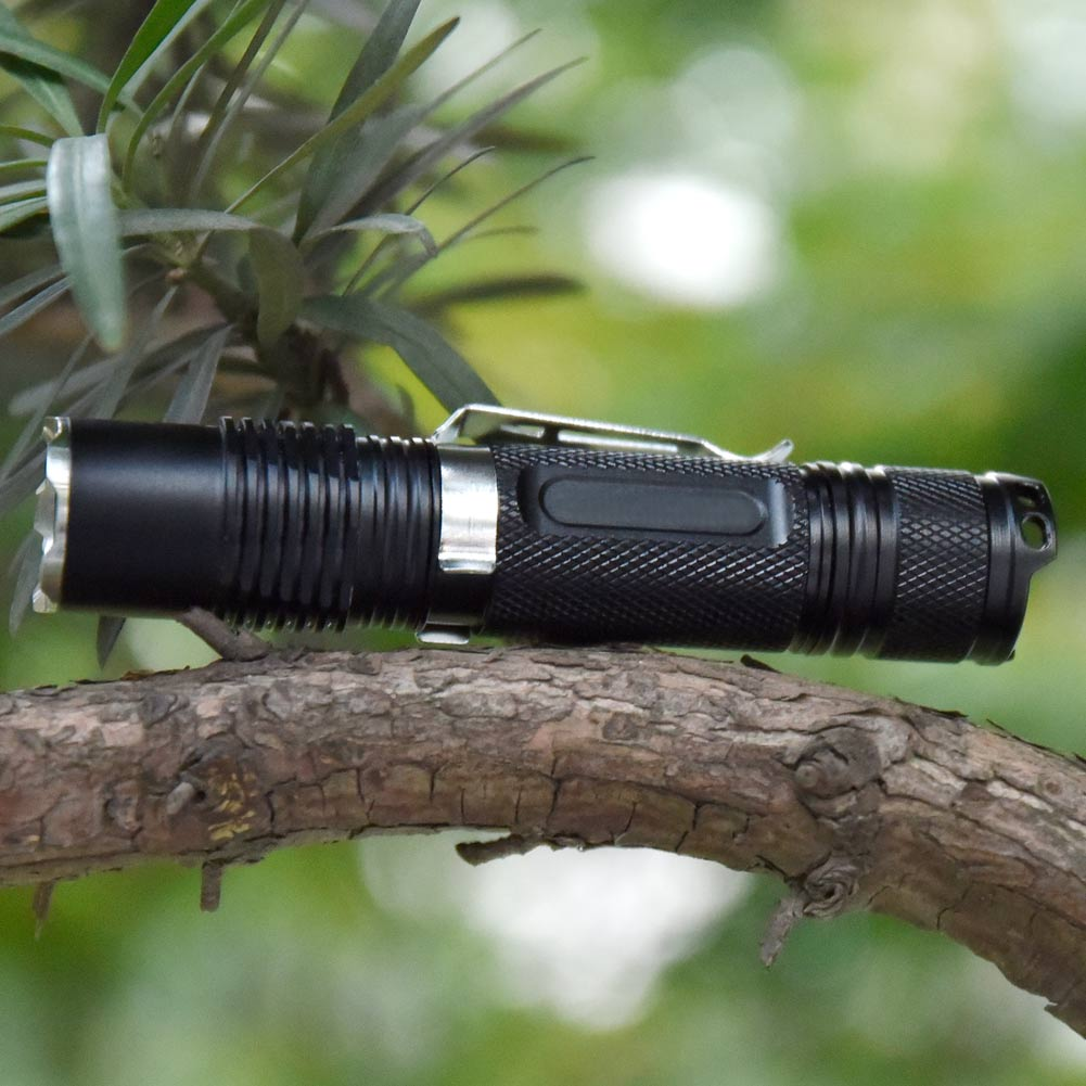 New 800 Lumens Cree XML L2 LED Flashlight Torch Dimmable 4Modes Outdoor Camping Hiking Pocket Light For 18650/CR123A Battery 2015 new skyray 20000 lumens 16x cree xml t6 led flashlight torch 18650 lamp for camping hiking