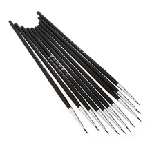 Pen Painting-Pen Art-Supplies Nylon-Brush Thin-Hook Drawing-Art Acrylic Fine 10pcs/Set