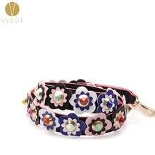 da24ac465c66 Цвет цветочный ремешок для сумки-2018 вас Для женщин известный стильные  модные Цвет ful цветок