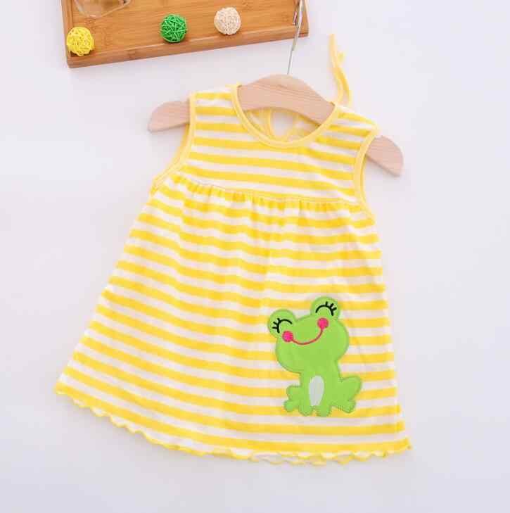 Toddler Trẻ Sơ Sinh Bé Cô Gái Ăn Mặc Cotton Mùa Hè Quần Áo Quần Áo Trẻ Em Trẻ Em Dresses Đảng Công Chúa Đám Cưới Sinh Nhật Cho Bebe