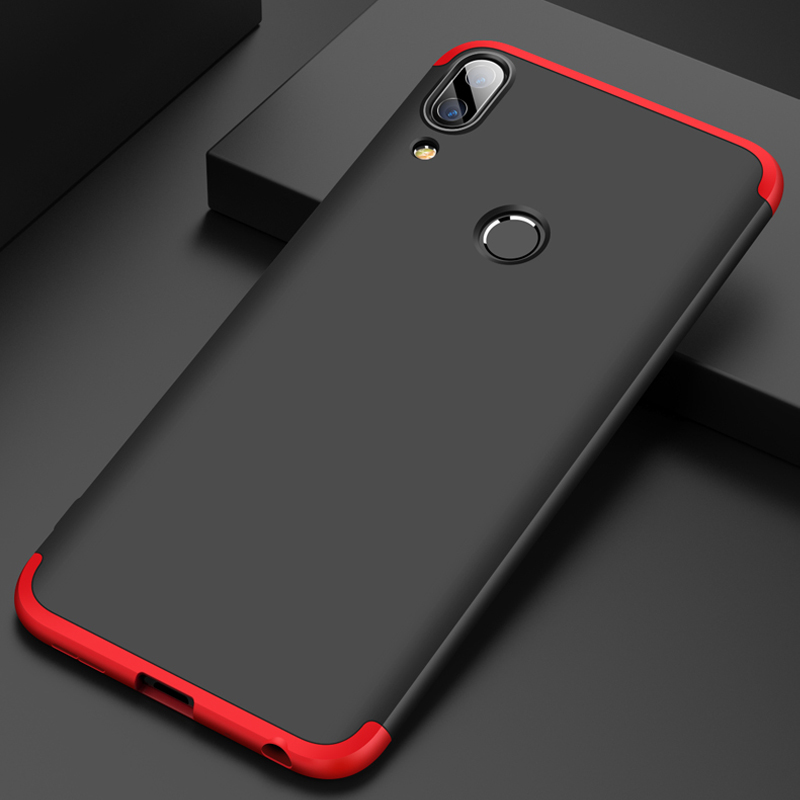 Vpower Case For <font><b>Asus</b></font> <font><b>Zenfone</b></font> <font><b>Max</b></font> <font><b>Pro</b></font> M1 Case <font><b>360</b></font> Full Protection Anti-knock 3 In <font><b>1</b></font> <font><b>Zenfone</b></font> <font><b>Max</b></font> <font><b>Pro</b></font> M1 Hard Slim Cover 6.0 inch image