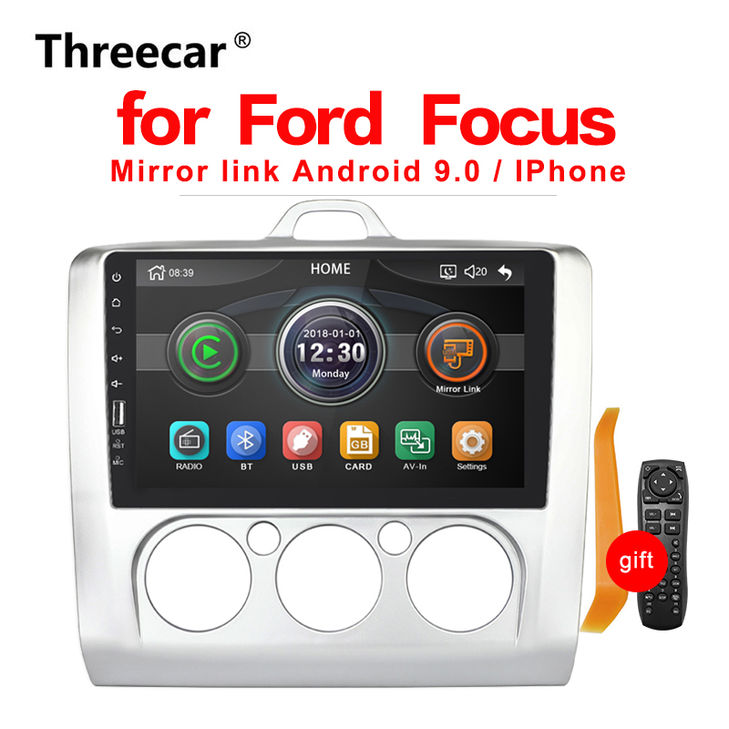 Car Radio Multimedia Player touch screen BT Mirror Link Android For Ford Focus MT 2004 2005 2006-2008 2009 2010 2011 2 DIN(China)