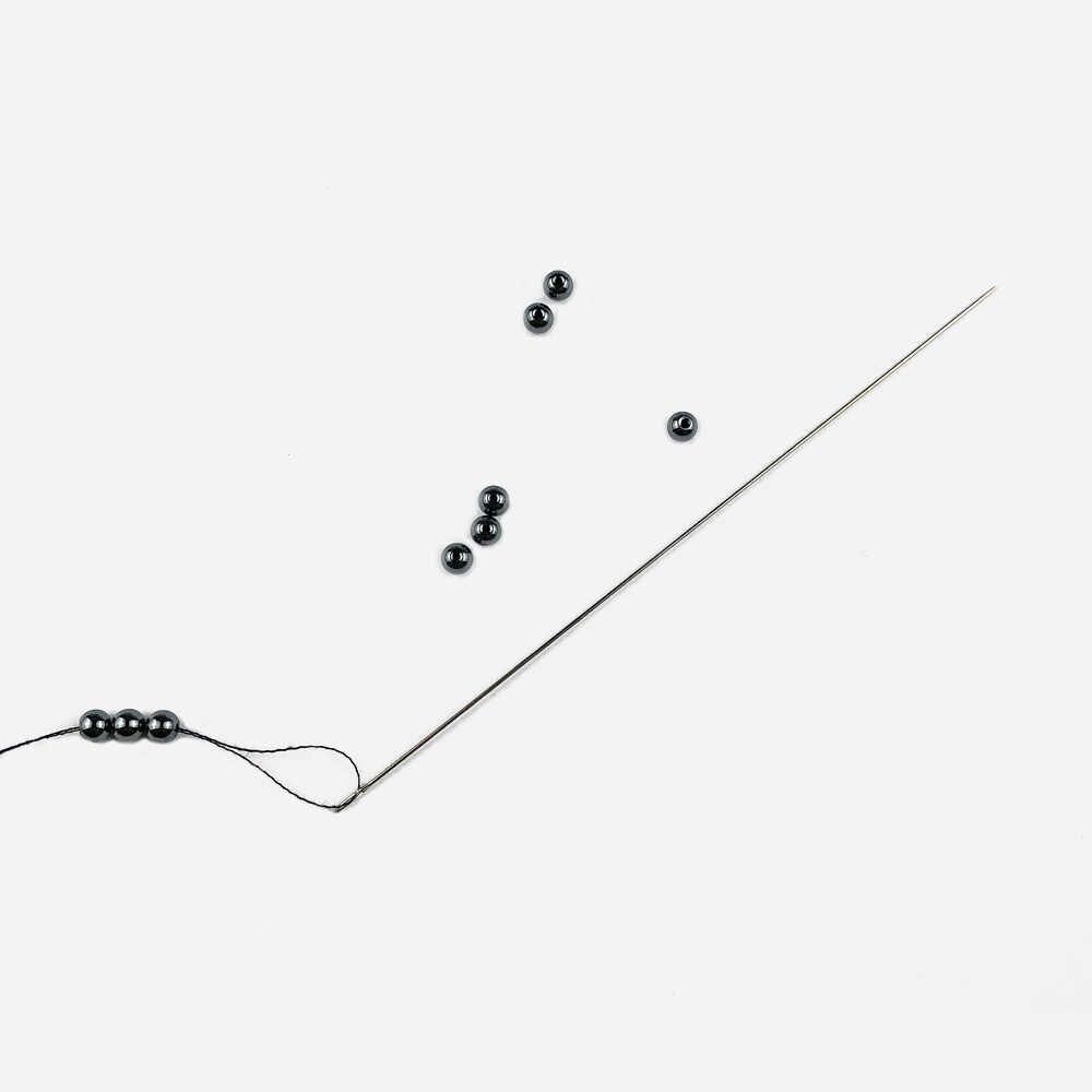 JHNBY 30PCS נירוסטה ואגלי מחטי חרוזים Threading מחרוזת טמבור/תכשיטי צמיד שרשרת ביצוע כלים סיכות DIY