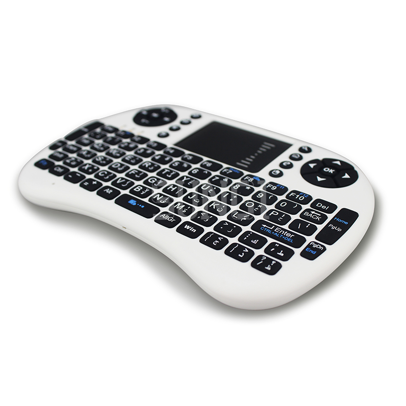 2,4G Wireless Arabisch brief Mini Tastatur Air Fly Maus Tastatur - Computer-Peripheriegeräte - Foto 4