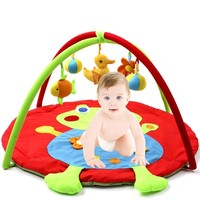 Educational Toys Baby Game Play Gym Mat Infant Blanket Gym Baby Educational Pads 3D Activity Play Mat Gym