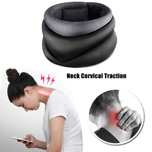 inflatable air cervical neck traction neck support soft brace device unit for headache head back shoulder neck pain Cervical Traction Collar Neck Protect Belt Neck Massage Device Support Brace Posture Corrector Head Back Shoulder Pain Relief