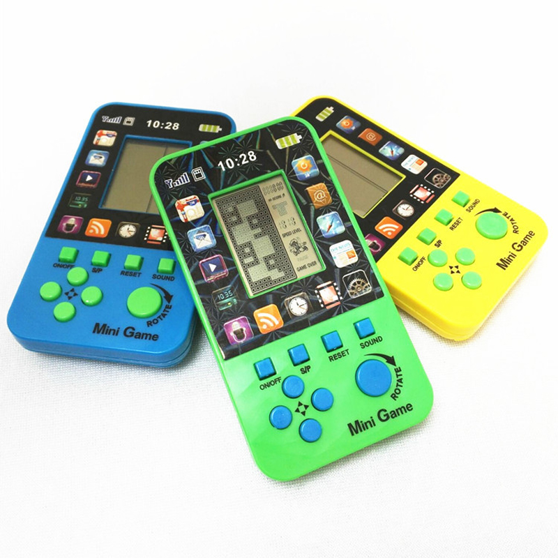 Classic Machine Games Cute Electronic Phone For Kids Baby Mobile Elephone Educational Learning Music Toys For Child Color Random
