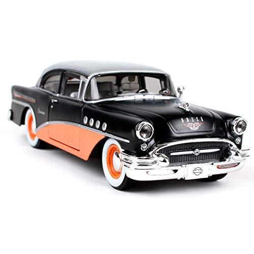 Maisto 1 26 1955 Buick Century Harley Davidson Diecast Model Racing Car NEW IN BOX