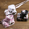 Beautiful Butterfly Pattern PU Camera Bag With Shoulder Strap Bag Hard Case Cover Pouch For Sony