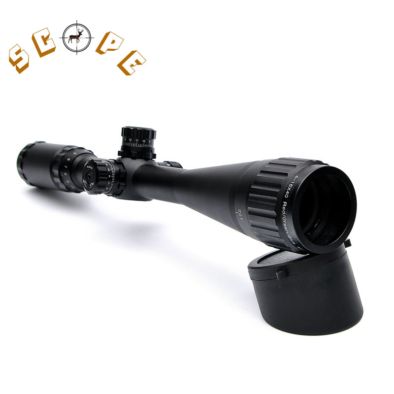 KANDAR 4-16X40 Optics Hunting Riflescope Reticle Crosshair Optic Sight Scope Rifle Tactical Scopes For Airsoft Gun Hunting marcool 4 16x44 side focus front focal plane optical sights rifle scope hunting riflescopes for tactical gun scopes for adults