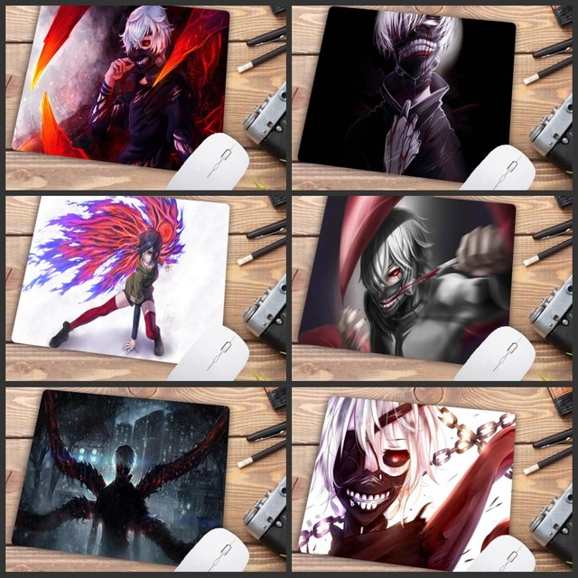 Mairuige Big Promotion Tokyo Ghoul Gaming Gamer Play Mats Mousepad Anime Cartoon Print Large Size Game Mouse Pad Gamer Mouse Mat