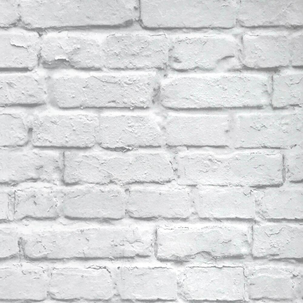 Vintage Modern 3d Stereo Efek Batu Bata Putih Wallpaper Roll Vinyl Pvc Pedesaan Realistis Faux Brick Wall Kertas Tahan Air Wallpaper Aliexpress