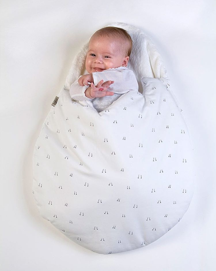 Cute Soft Cotton Eggs Style Sleeping Bag Newborns Sleeping