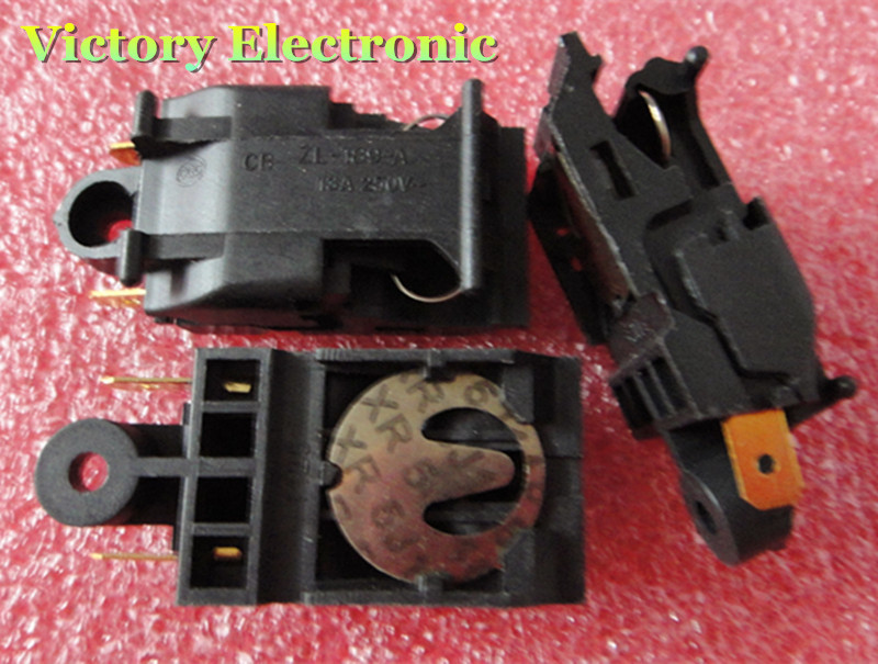 New 5PCS/Lot Kettle Switch XE-3 JB-01E 13A Steam Kettle Thermostat Switch Wholesale Electronic