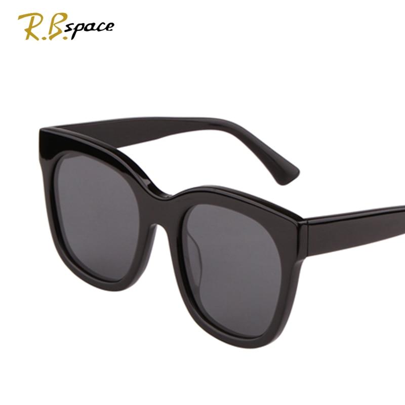 RBspace Moda do vintage Lentes Grandes marcas de design óculos de sol UV400  Polarizada homem de Luxo retro rodada óculos de sol das mulheres Unisex 62c3f16ef1