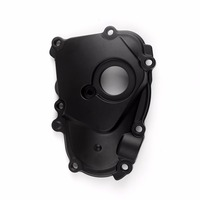 Areyourshop Motorcycle Right Oil Pump Engine Case Cover For Yamaha YZF R6 YZF R6S FZR600 FZR500 Aluminium Alloy Motor Parts