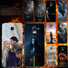 Telepon Kasus untuk Samsung Galaxy Note 9 8 7 6 5 4 S10 S9 Plus Lite S10E S8 S7 S6 s5 S4 Edge Plus Mini Game Of Thrones Cover(China)