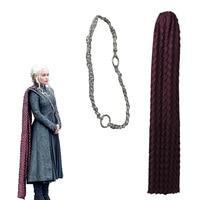 Daenerys Targaryen Cosplay Cloak Tippet Accessories Game of Thrones Season 7 Fancy Props Halloween Cloak Adult Women Christmas