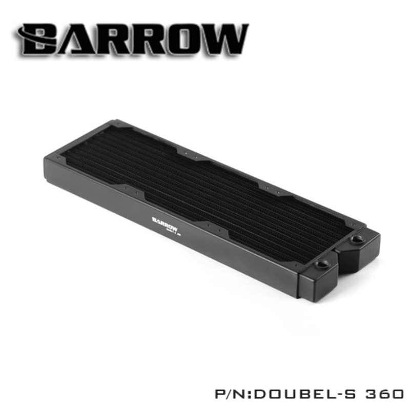 Barrow Double S360 double s series 360mm high density double wave copper water cooler for 12cm