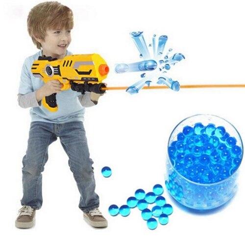 1 kg/lot 7-8mm multicolore cristal balles pistolets à eau pistolet jouets en croissance cristal eau boules Mini ronde sol eau perles