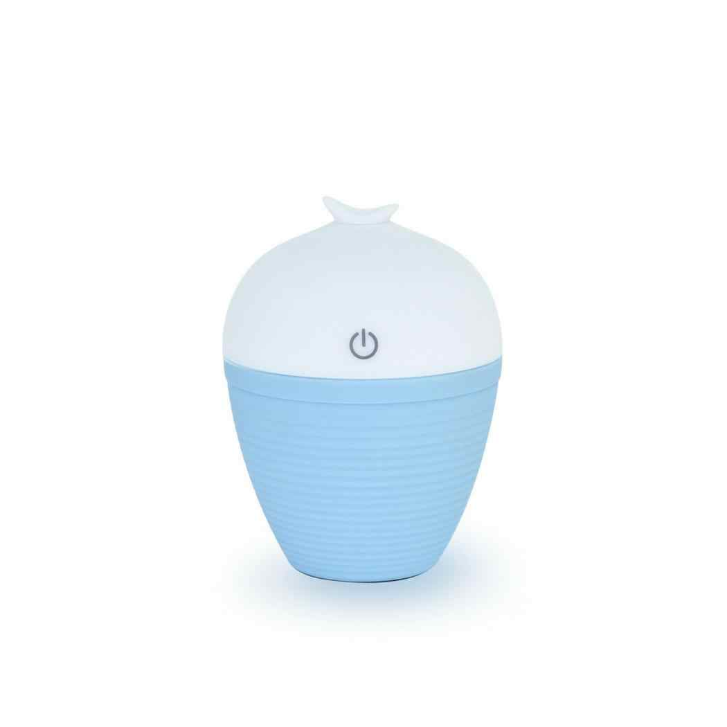 120 мл ультразвуковой увлажнитель воздуха Арома эфирные масла диффузор увлажнитель для воздуха с разъемом Micro USB ороситель увлажнитель чайник домашний Автомобиль Портативный розовый