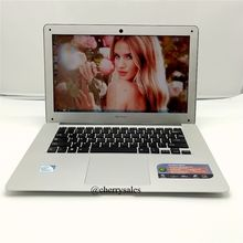 Free shipping 14 inch laptop 2.0 GHz 8G 750G HDD WIN7/8.1 notebook In-tel Celeron J1900 Quad core ultrabook laptop computer