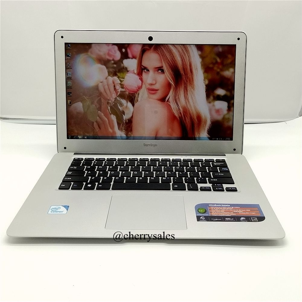 Free shipping 14 inch laptop 2.0 GHz 8G 750G HDD WIN7/8.1 nos