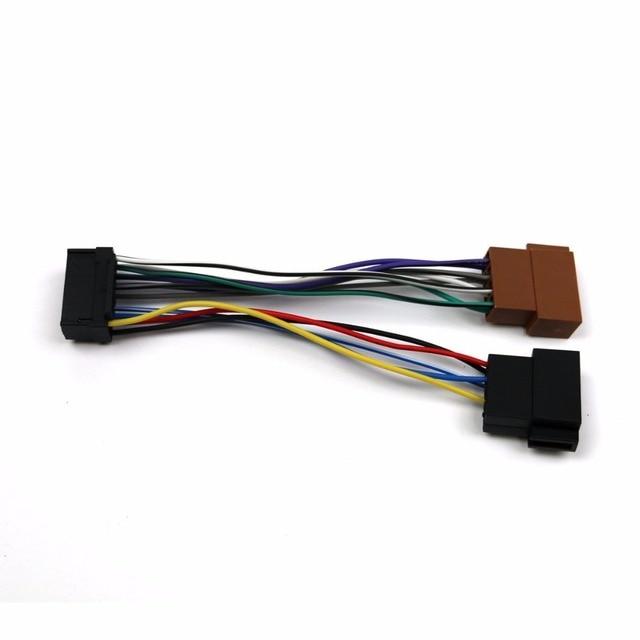 Autostereo ISO standard HARNESS AUTO AUDIO für Sony CD; JVC 16 pin ...