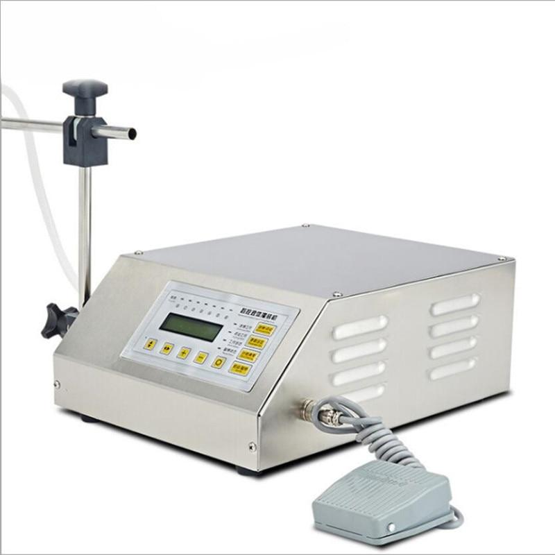 все цены на GFK-160 Digital Liquid Filling Machine with LCD Display Milk Perfume Drink Water Filling Machine
