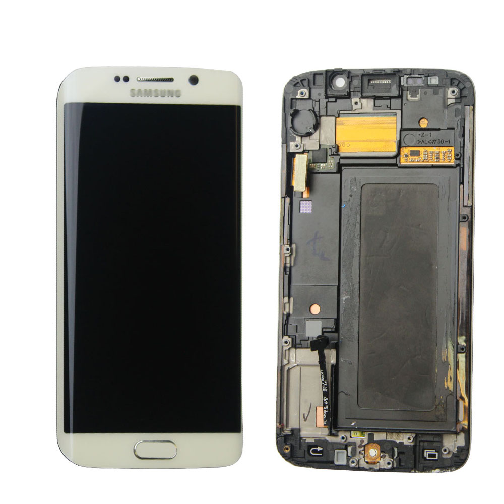LCD Display Screen Touch Digitizer + Frame FOR Samsung Galaxy S6 edge G925F replacement pantalla parts